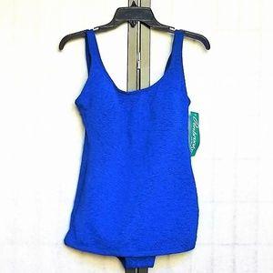 Swimsuit Woman's 16 Penbrooke Krinkle 1Pc NWT
